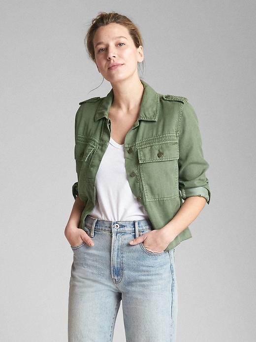 Tencel™ Icon Utility Jacket by Gap