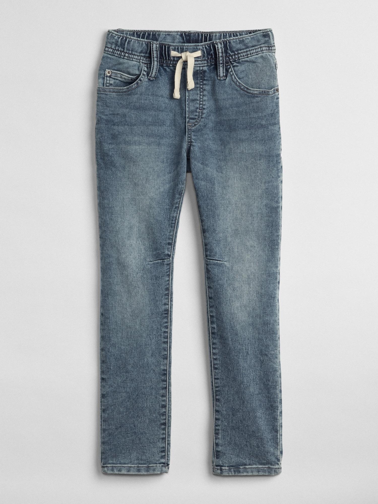 fc99d2dba1f Kids Superdenim Pull-On Slim Jeans With Fantastiflex | Gap