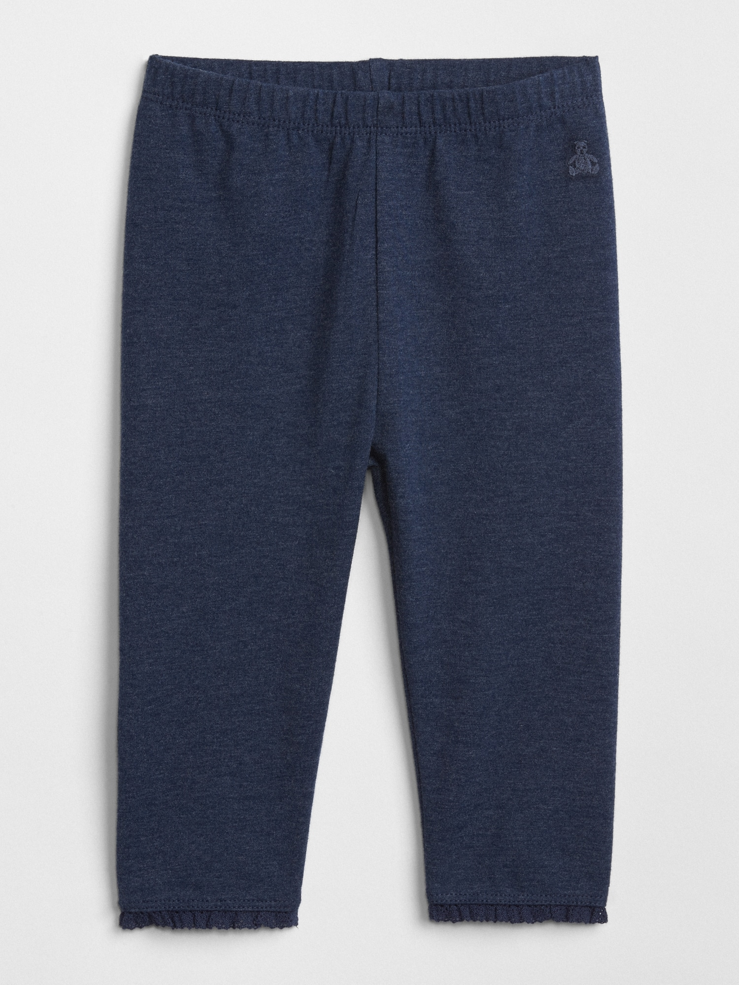 0ef1886fc904e Baby Lace-Trim Leggings   Gap