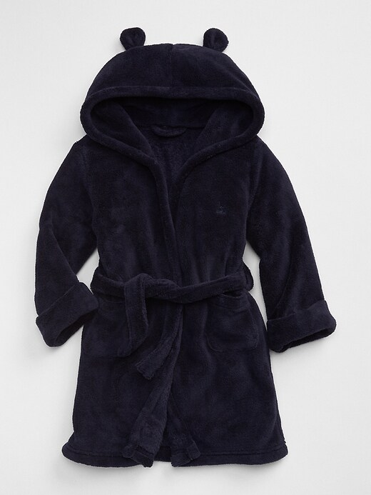 Baby Gap Fleece Bear Robe by Gap