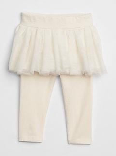 Duo legging et jupe en tulle pour bébé