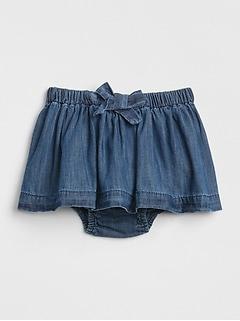 Baby Chambray Skirt