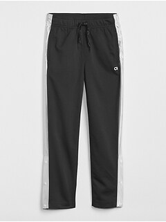 GapFit Kids Pull-On Snap Pants