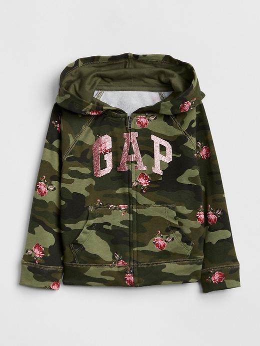 Print Logo Hoodie Sweatshirt by Gap