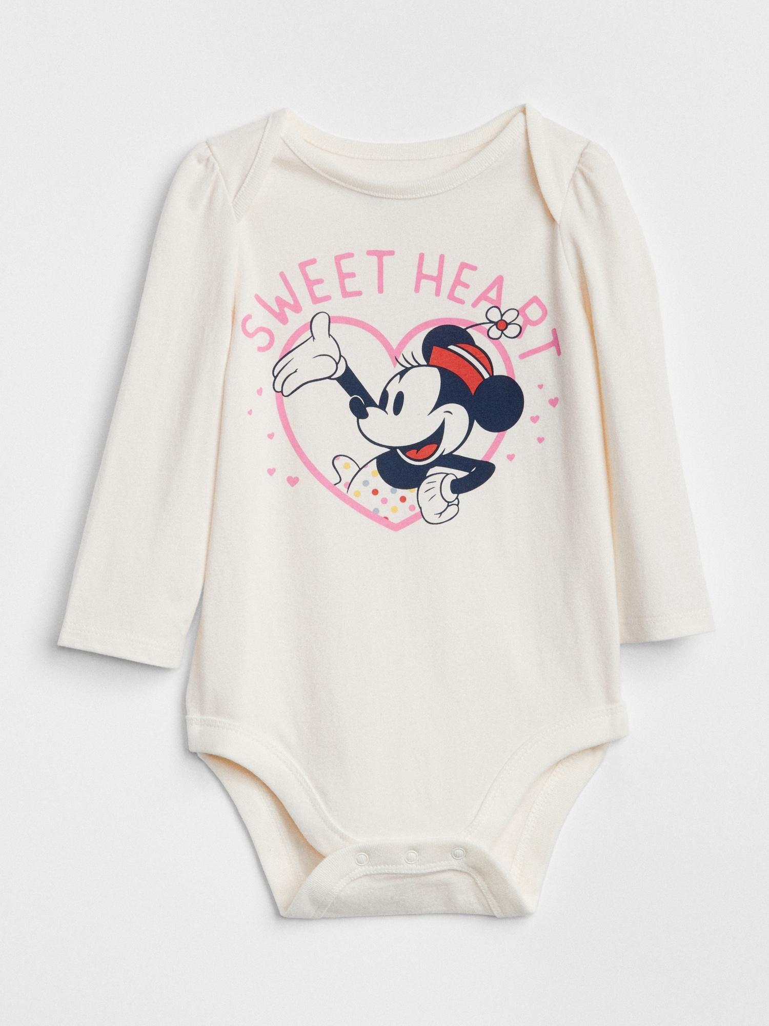 f5daf9695bb41 babyGap | Disney Minnie Mouse Bodysuit | Gap