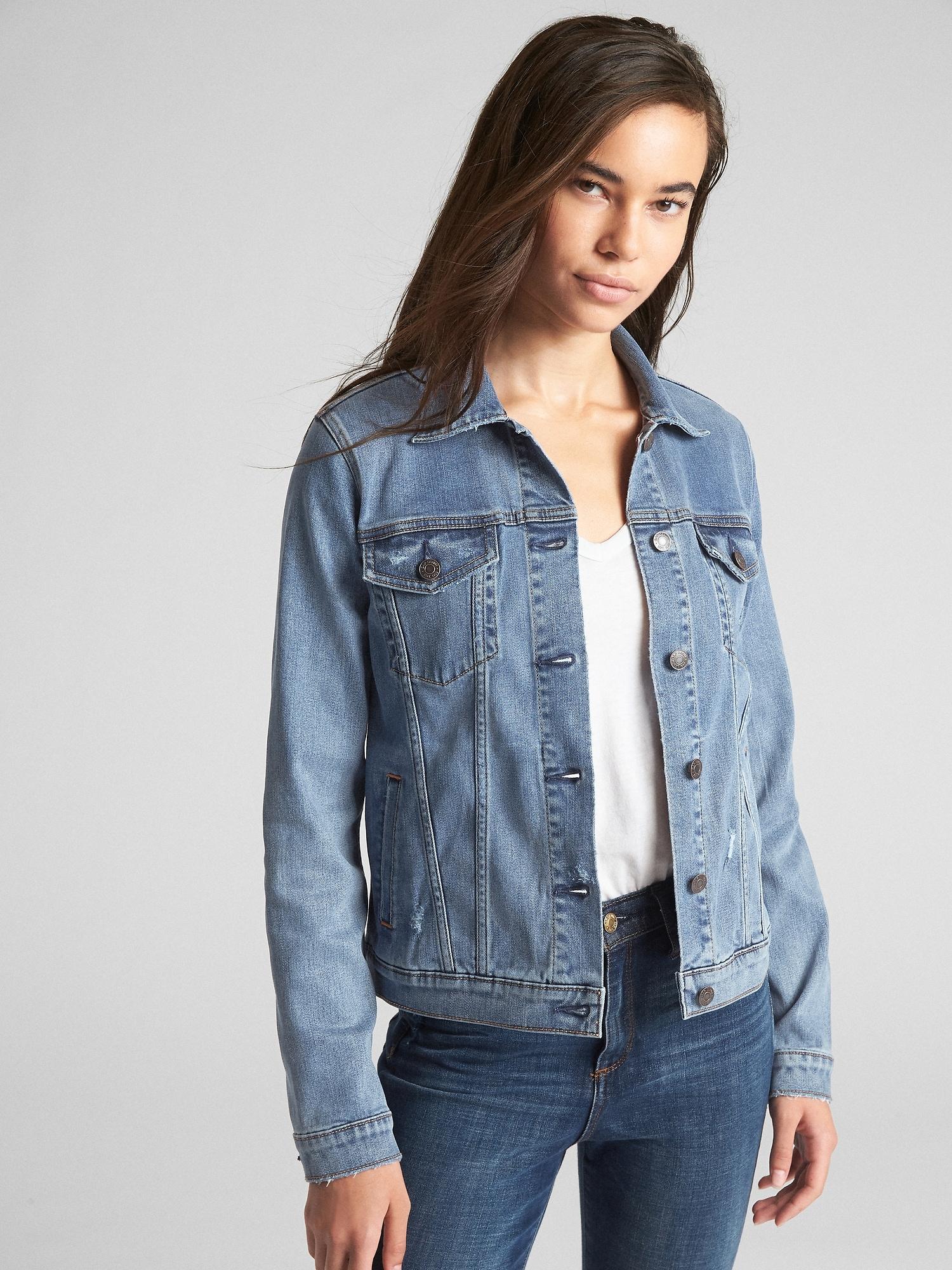 ec8349ab873 Soft Wear Icon Denim Jacket