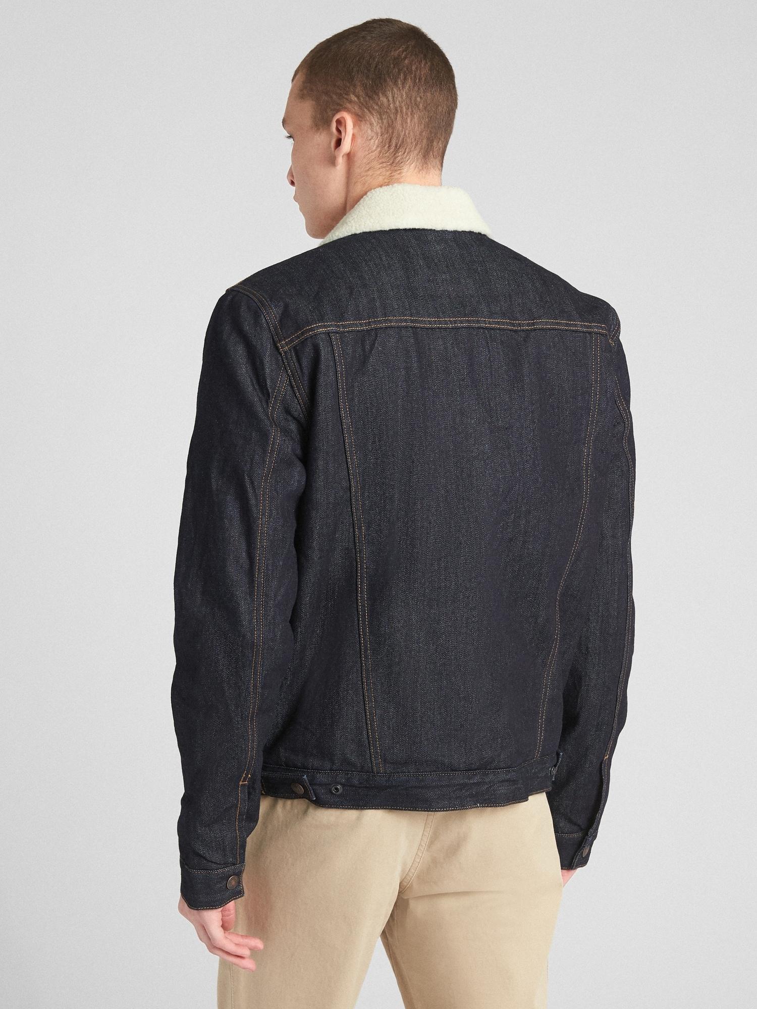 24bfa5b24f62a Sherpa-Lined Icon Denim Jacket
