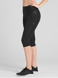 GapFit High Rise Crop Leggings in Sculpt Revolution