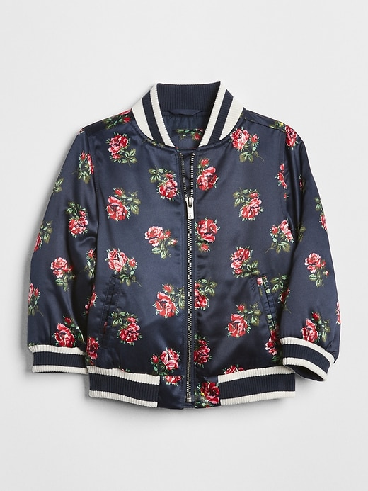 Floral Bomber Jacket by Gap
