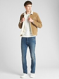 Sherpa Lined Icon Cord Jacket Gap