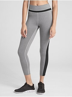 GapFit Reflective Ankle-Zip 7/8 Leggings