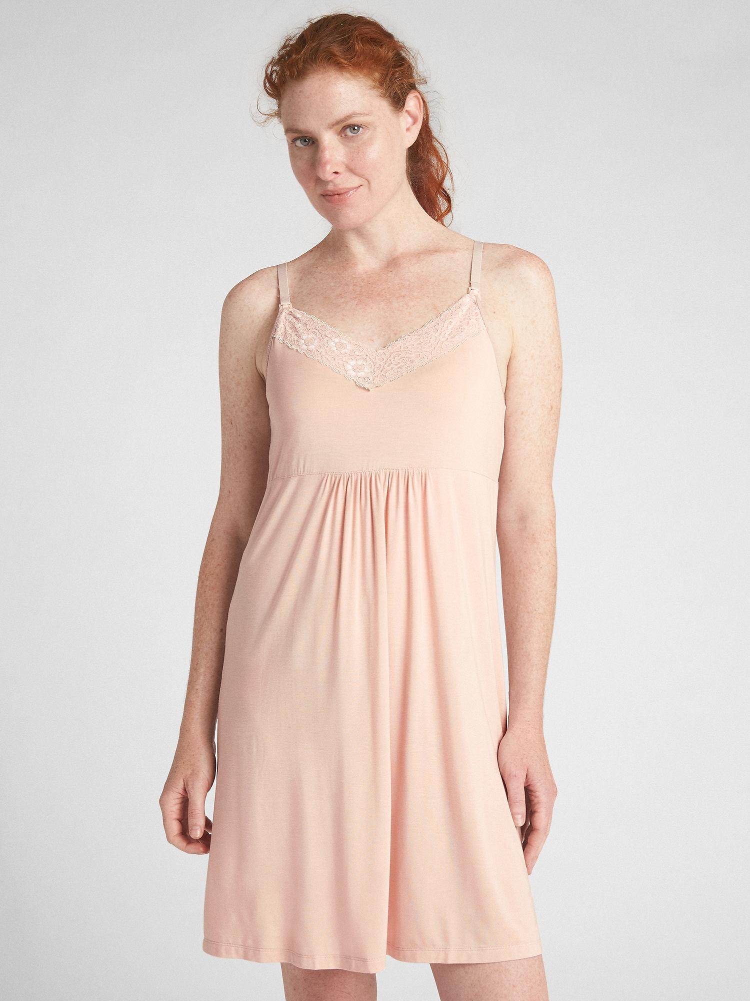 f81d5dd2e12d3 Maternity nursing nightgown