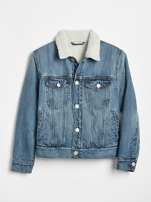 Sherpa Denim Jacket by Gap