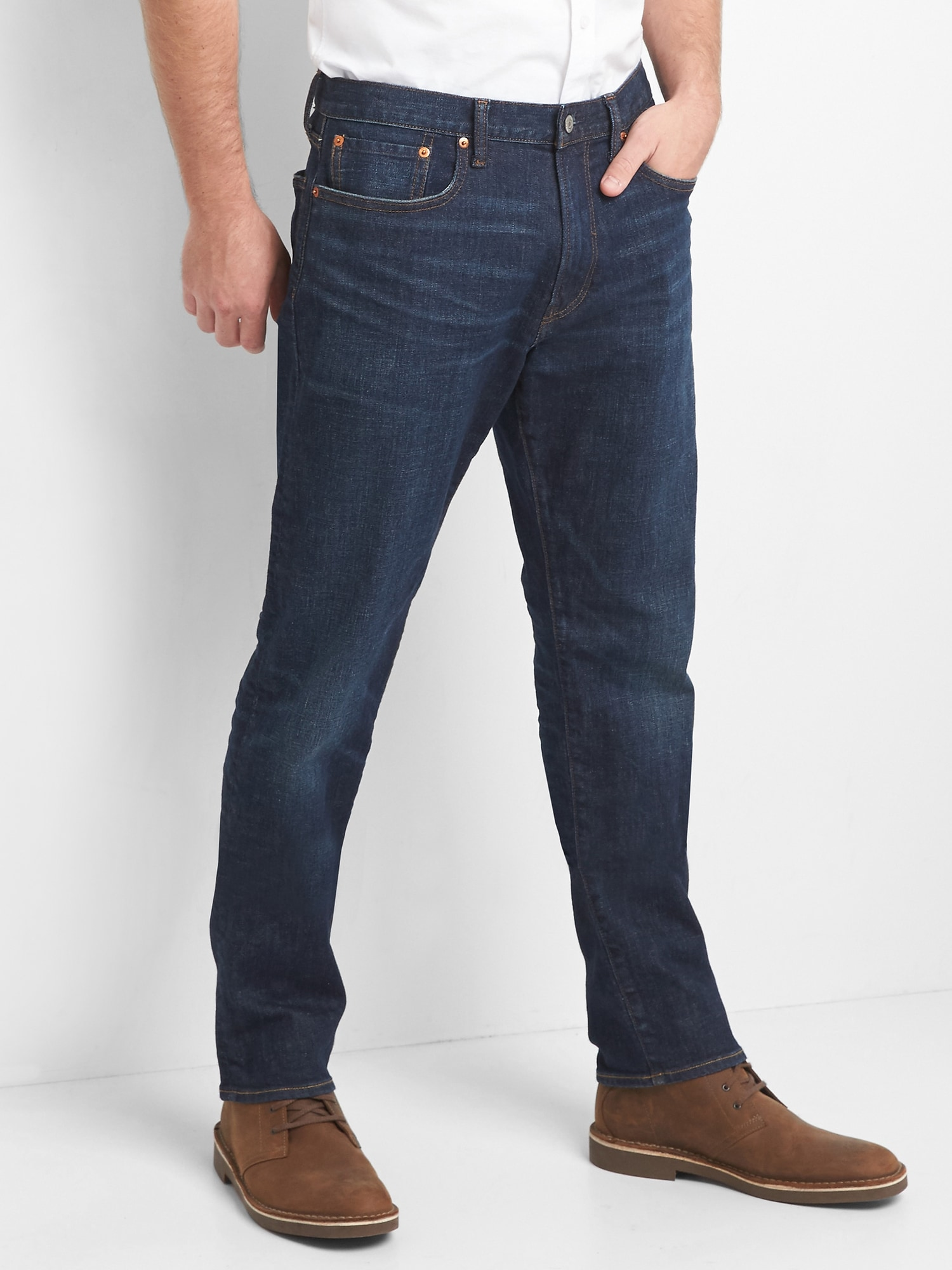 caea08063c32 Athletic Jeans with GapFlex
