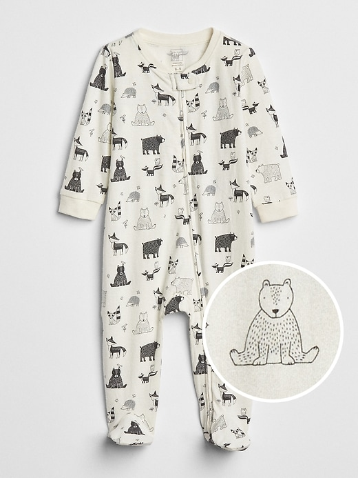 Organic Critter Footed One Piece by Gap
