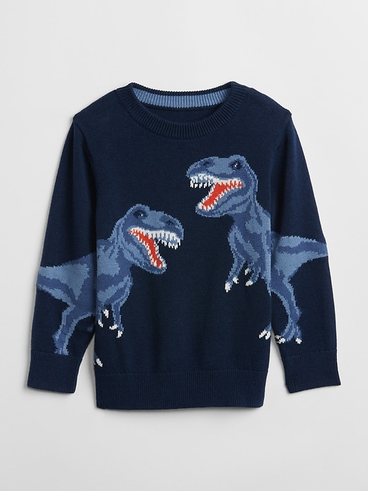 Graphic Crewneck Sweater by Gap