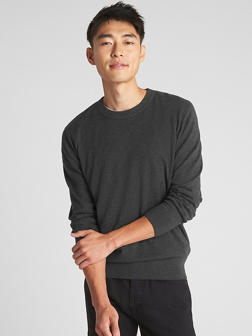 Budding Crewneck Pullover Sweater by Gap