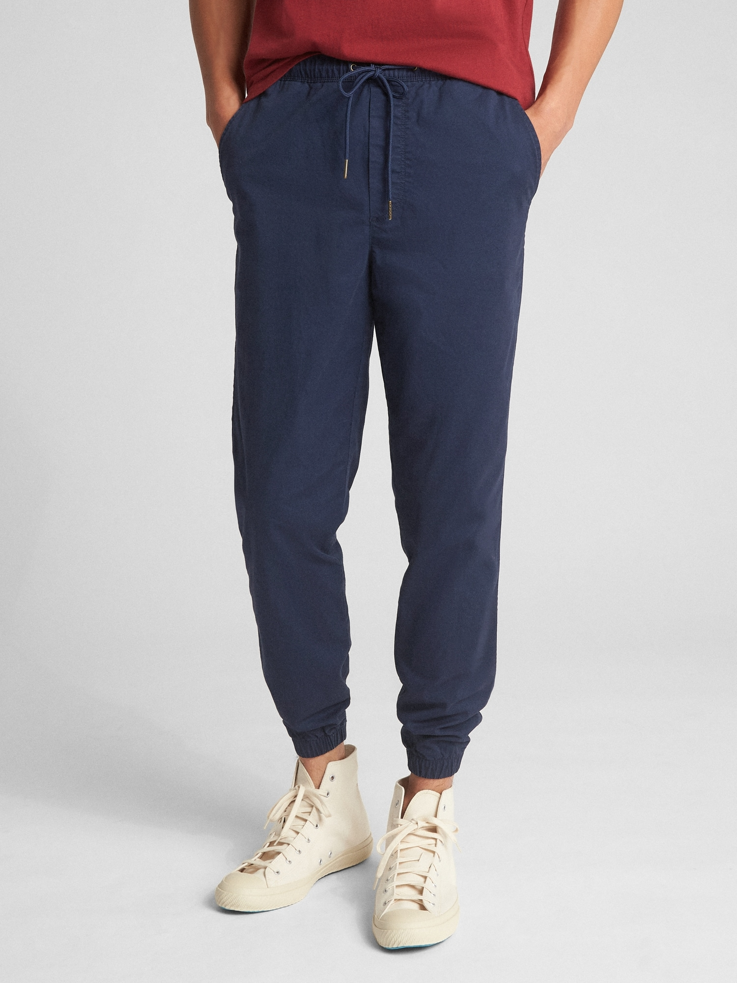 7e4eb9948 Twill Jogger Pants with GapFlex