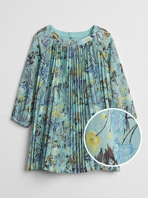 Floral Pleated Dress by Gap