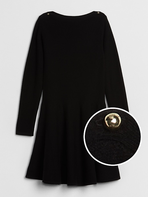 Fit And Flare Sweater Dress by Gap