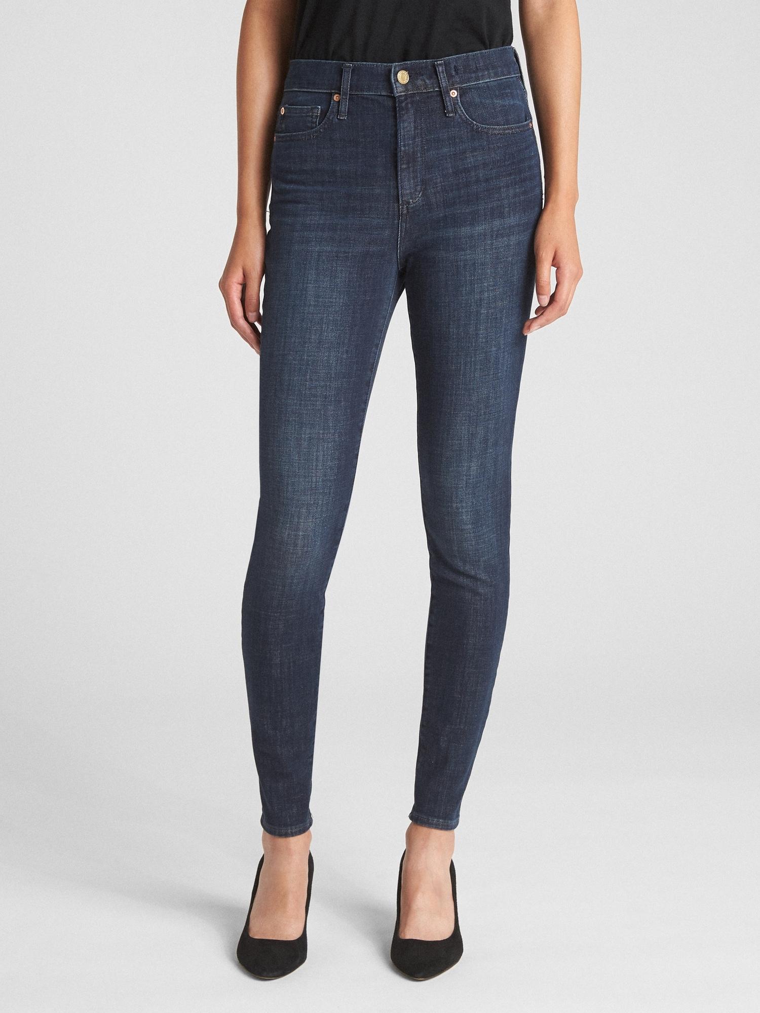 f0887ea72a8b1 High Rise True Skinny Jeans in 360 Stretch