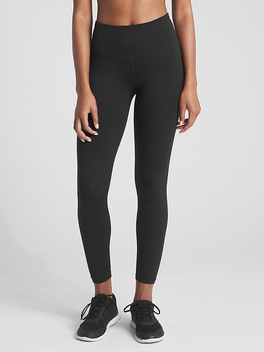 G Fast High Rise Leggings In Eclipse by Gap