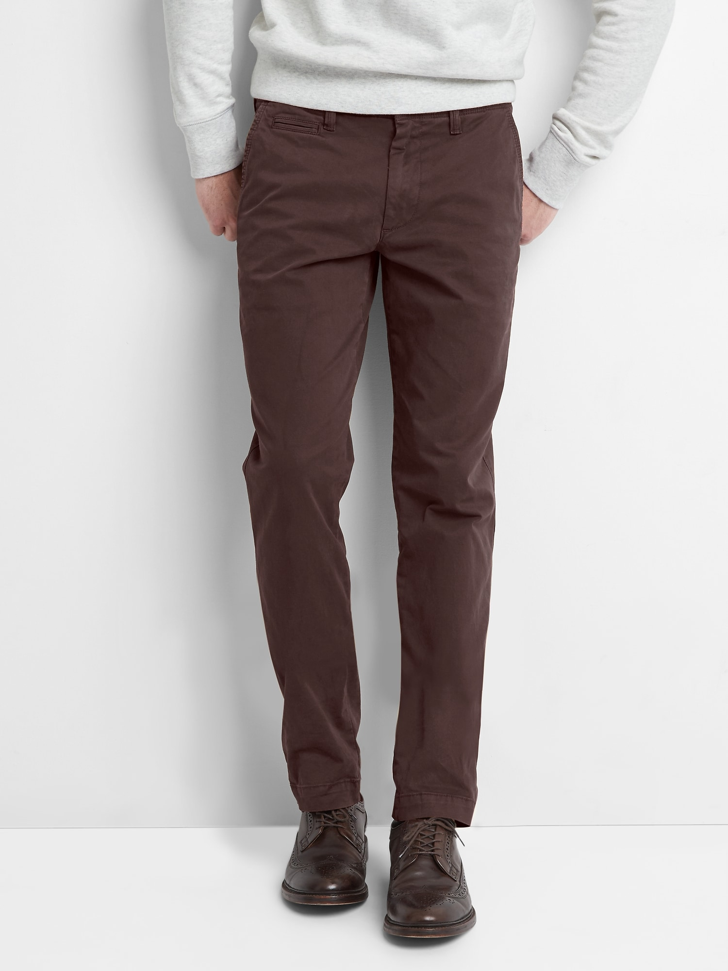 07a56e387906c Vintage Khakis in Slim Fit with GapFlex | Gap
