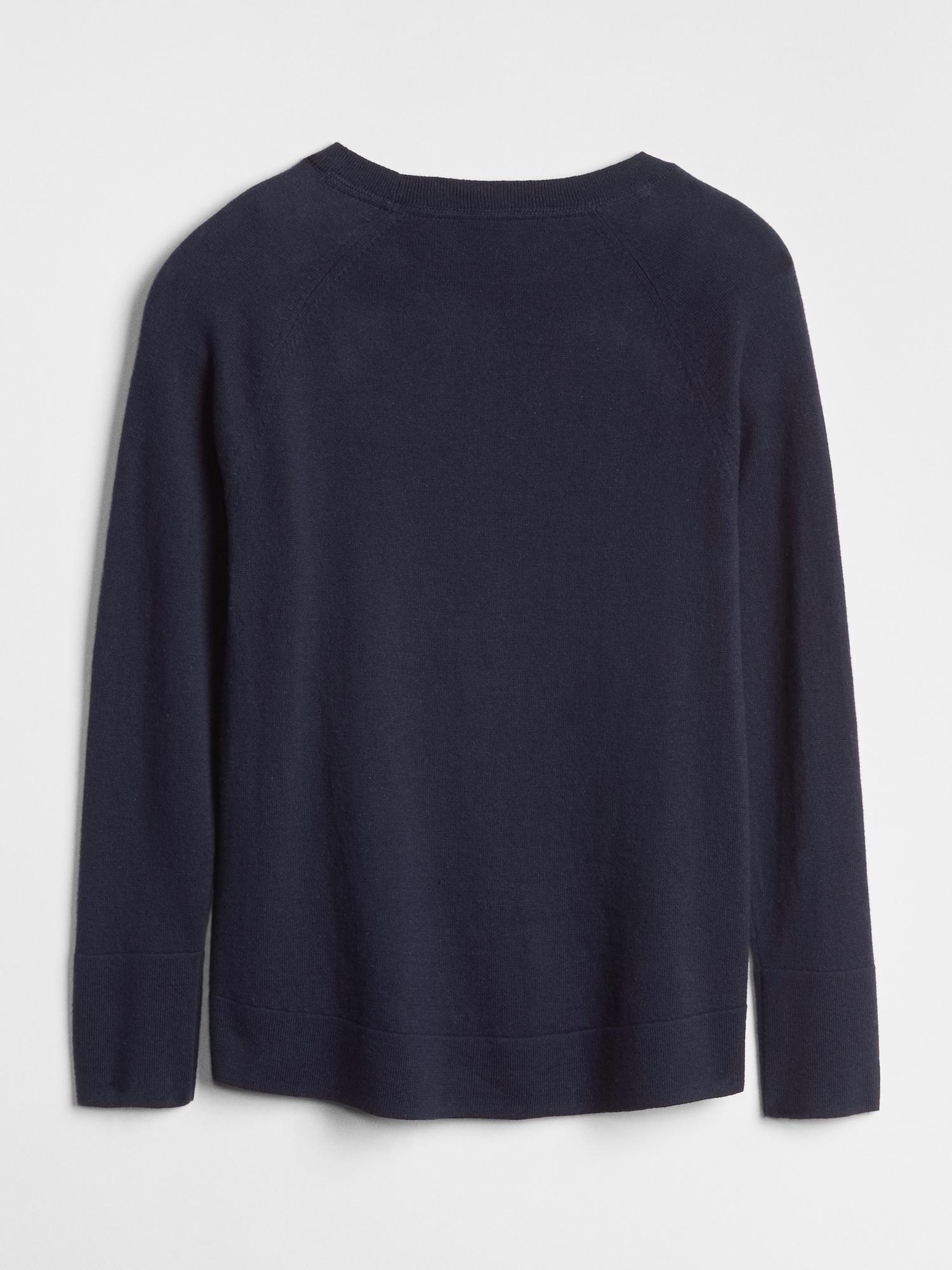 49e467fe Kids Gap Logo Sequin Sweater | Gap