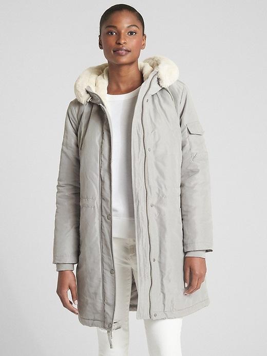 Cold Control Faux Fur Parka by Gap