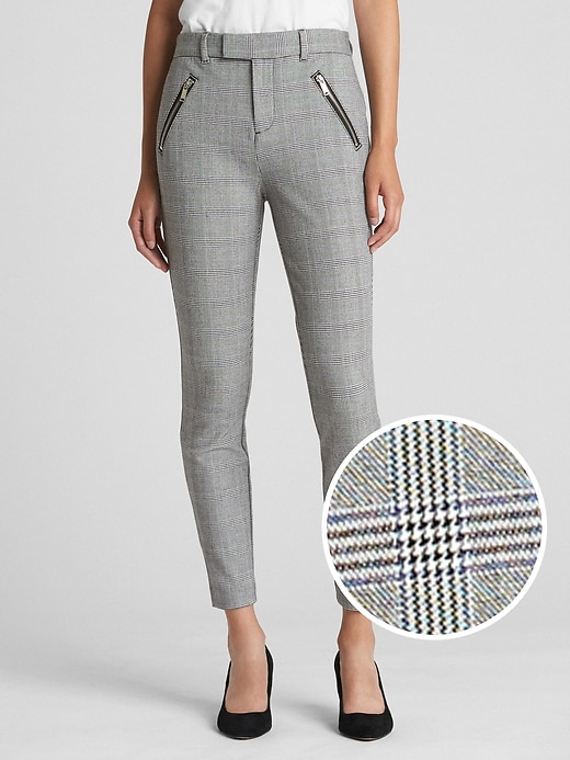 High Rise Skinny Ankle Pants In Bi Stretch by Gap