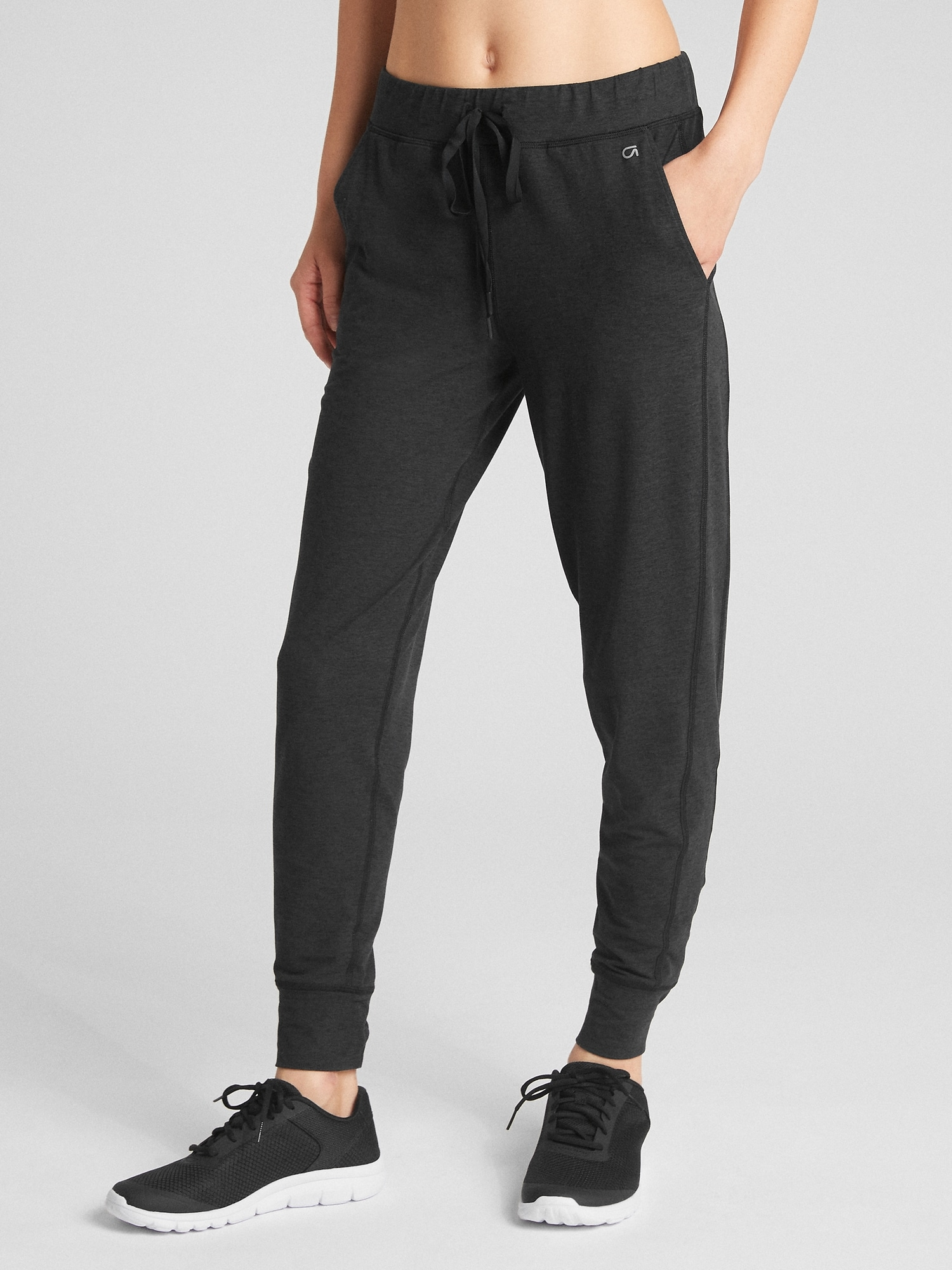 284ddb5710 GapFit Joggers in Brushed Tech Jersey