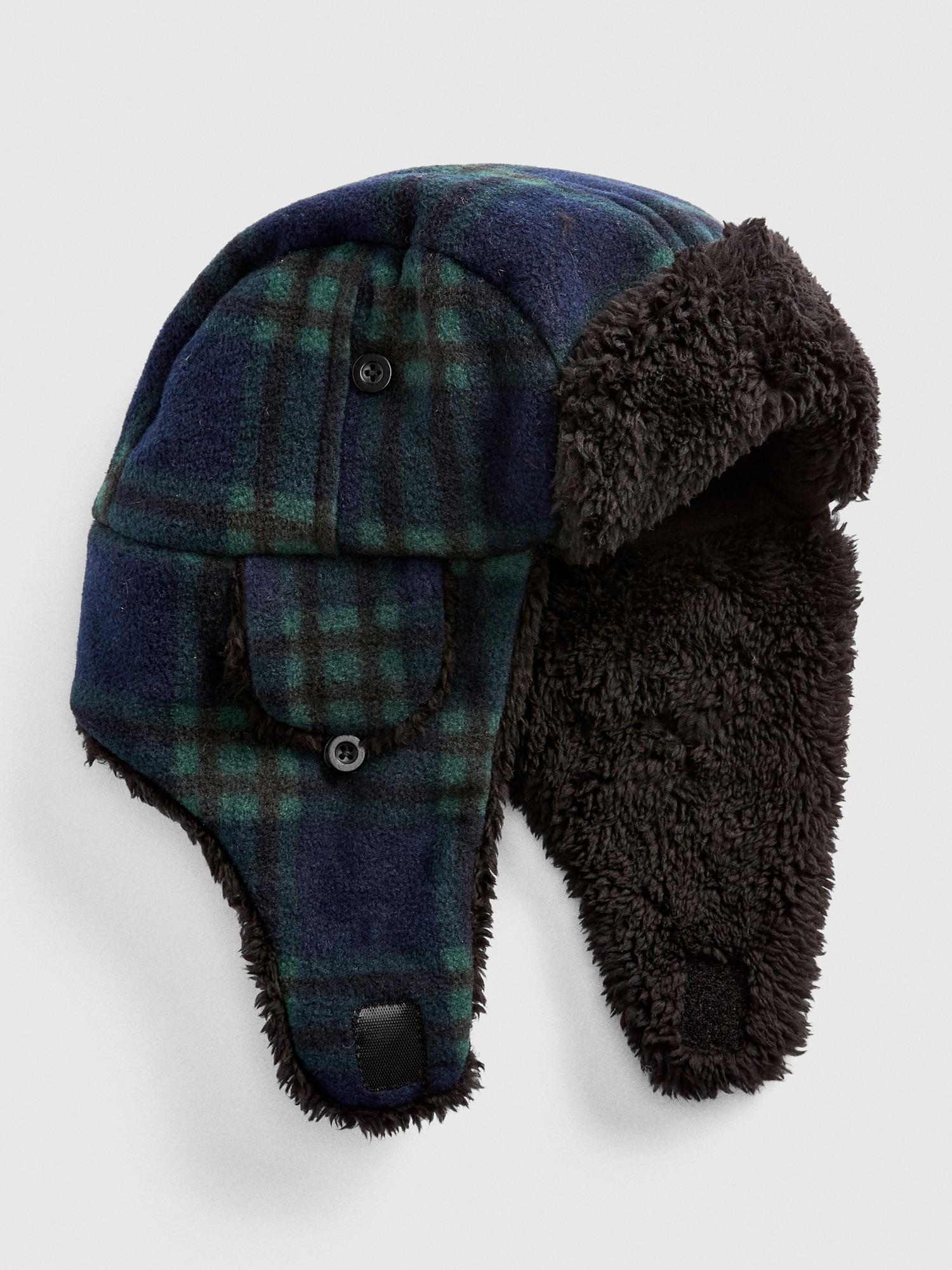 Cozy Flannel Trapper Hat aba5057f5b58