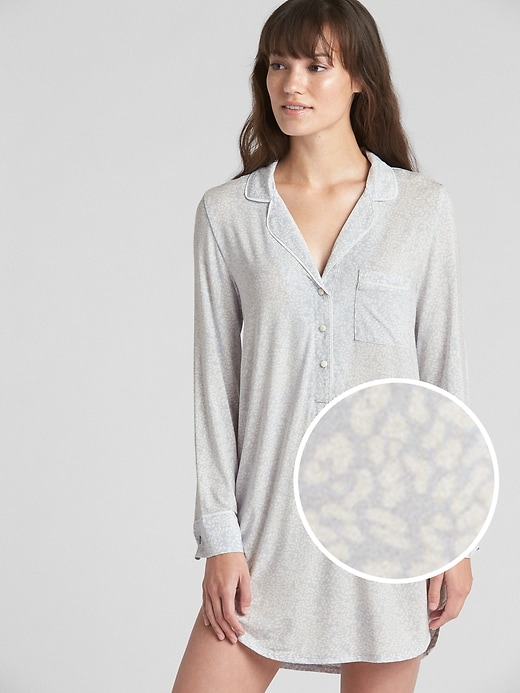 Sleep Shirtdress In Modal by Gap