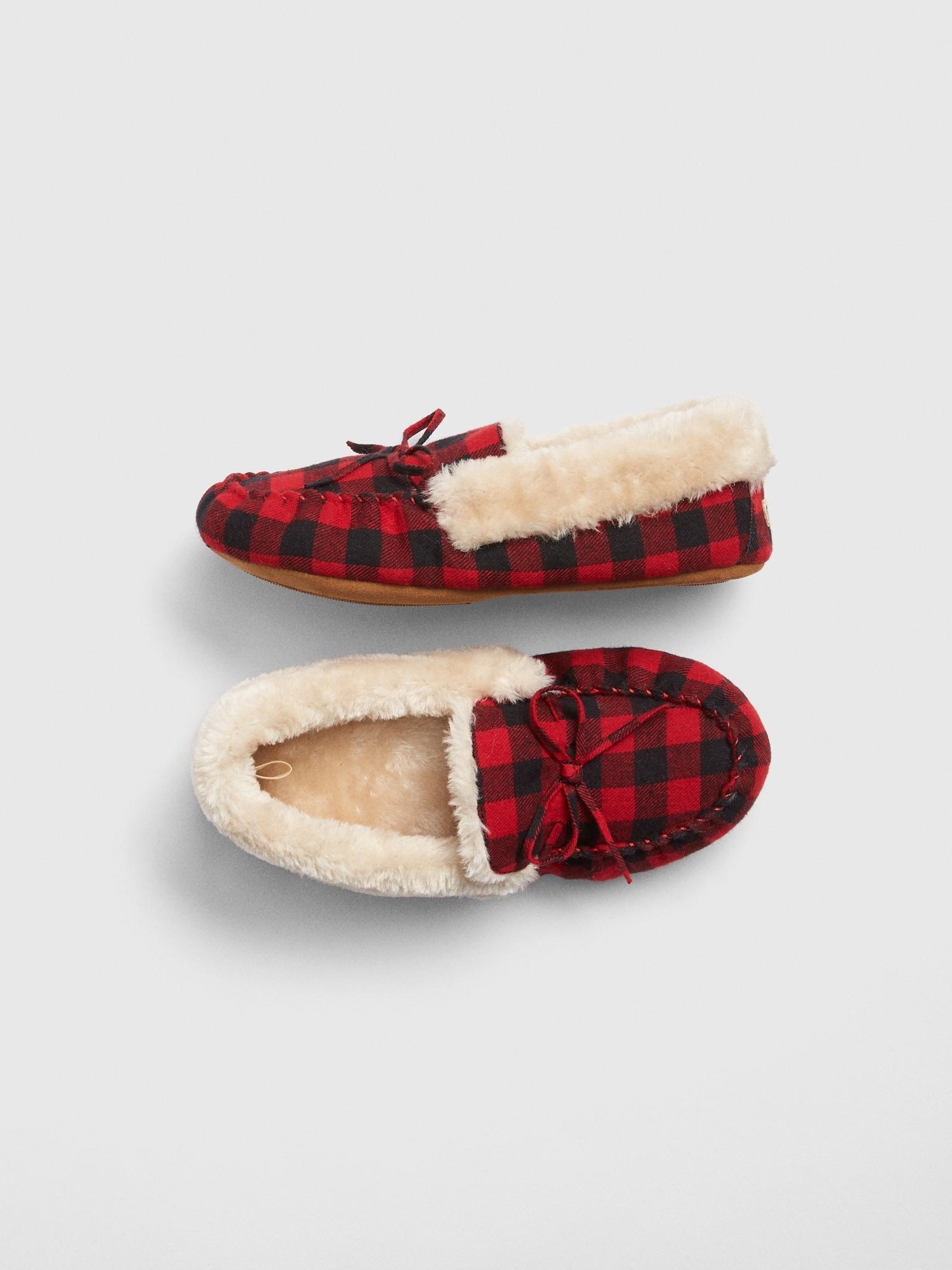 c5a79e588de Cozy Buffalo Plaid Slippers