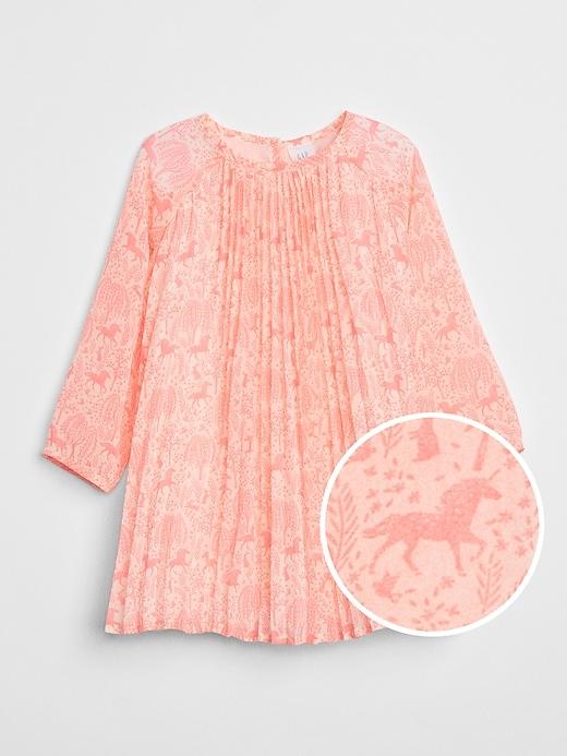 Gap | Sarah Jessica Parker Pleated Dress by Gap