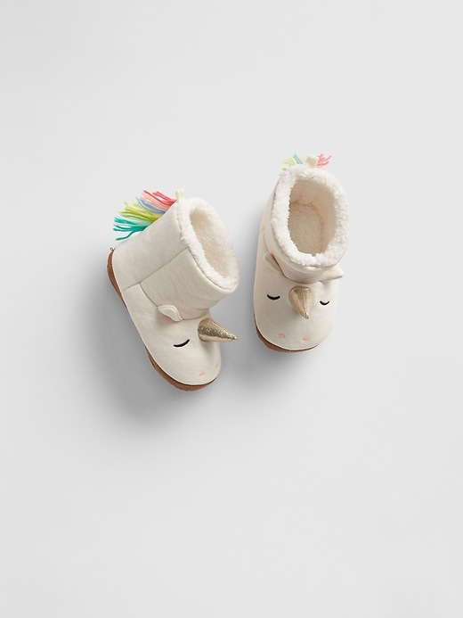 Unicorn Sherpa Boots by Gap