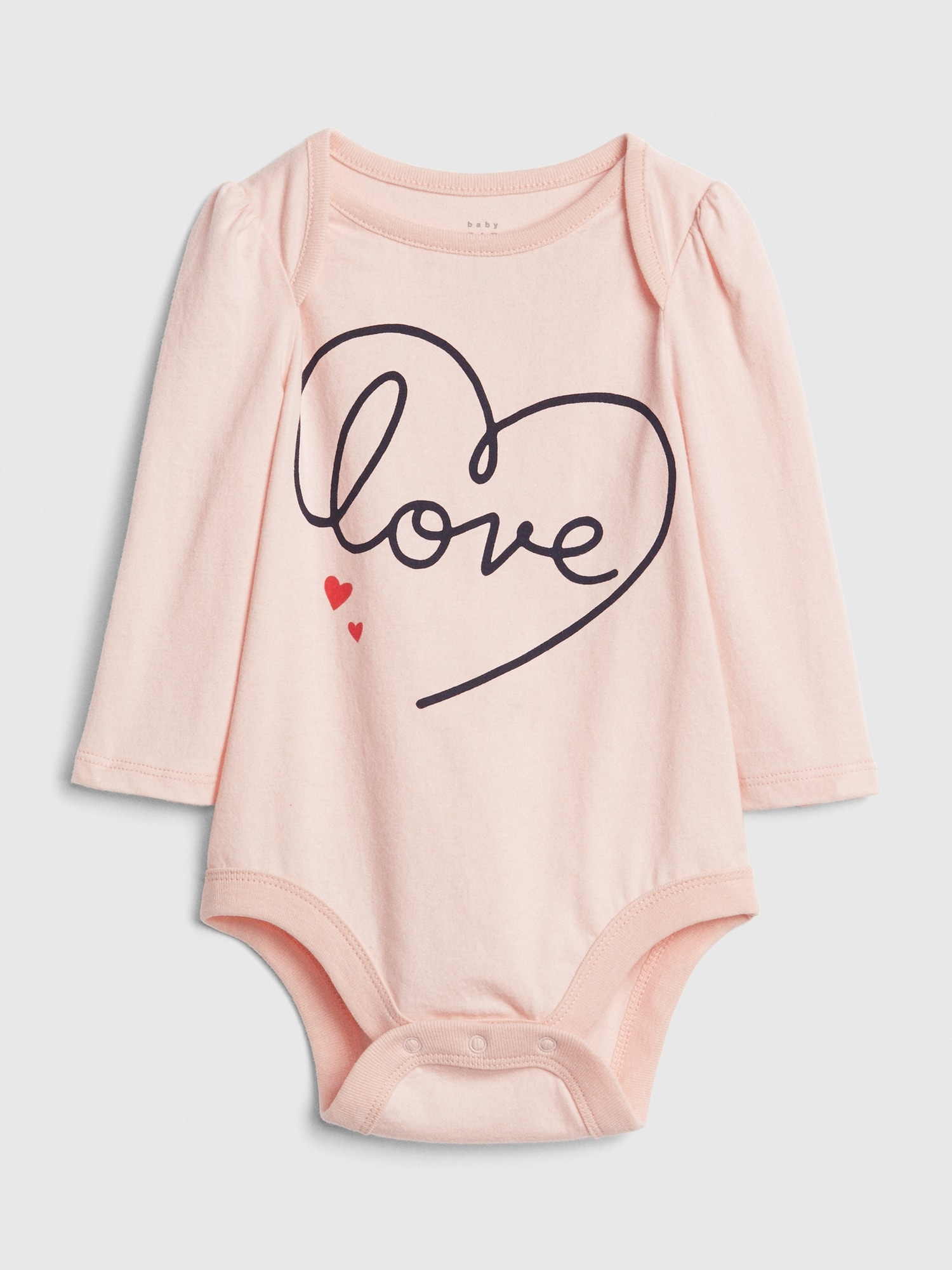 efcf7451f Graphic Long Sleeve Bodysuit | Gap