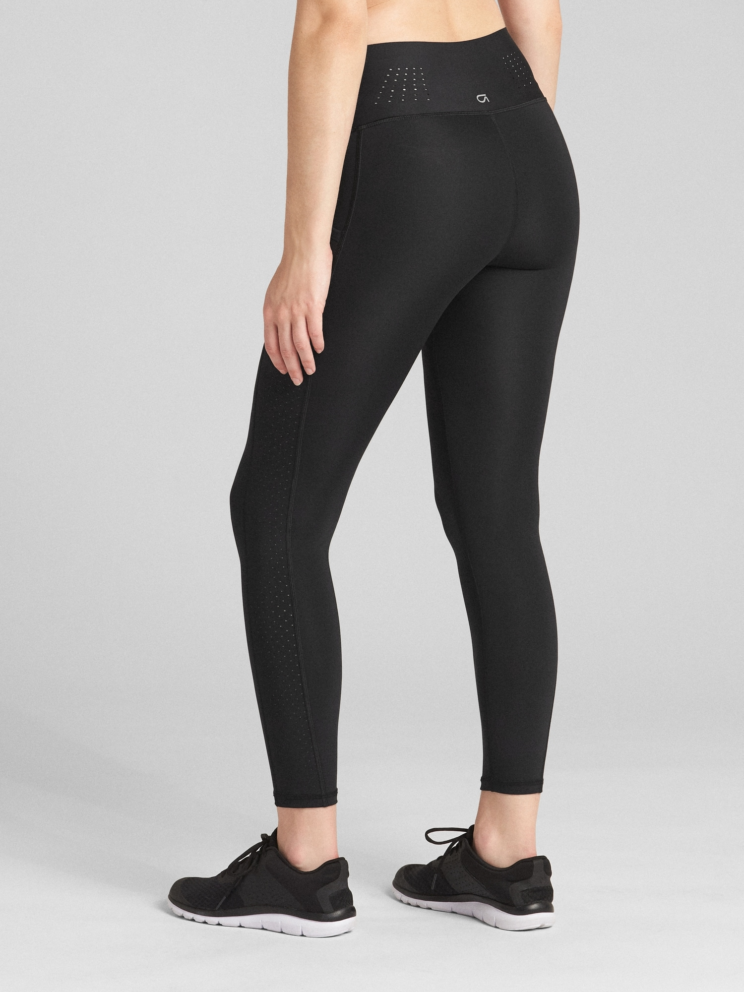 747afcf02d9e6 GapFit High Rise Full Length Leggings in Sculpt Revolution | Gap
