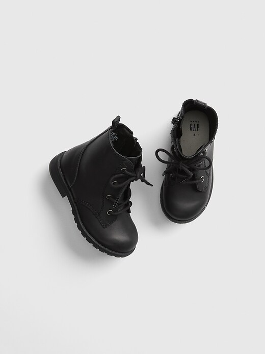 Lace Up Desert Boots by Gap