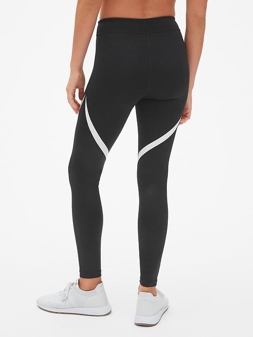 2c1803c961710 GapFit Blackout Shine Spliced Full Length Leggings | Gap