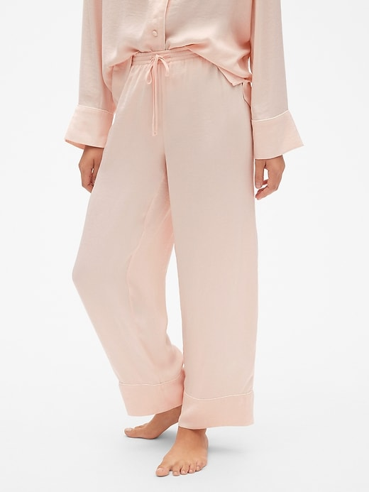 Dreamwell Drawstring Pants In Satin by Gap