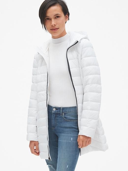 Lightweight Hooded Puffer Coat by Gap