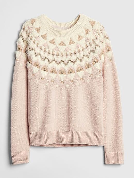 Sparkle Fair Isle Sweater by Gap