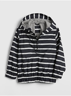 Toddler Stripe Jersey-Lined Windbuster