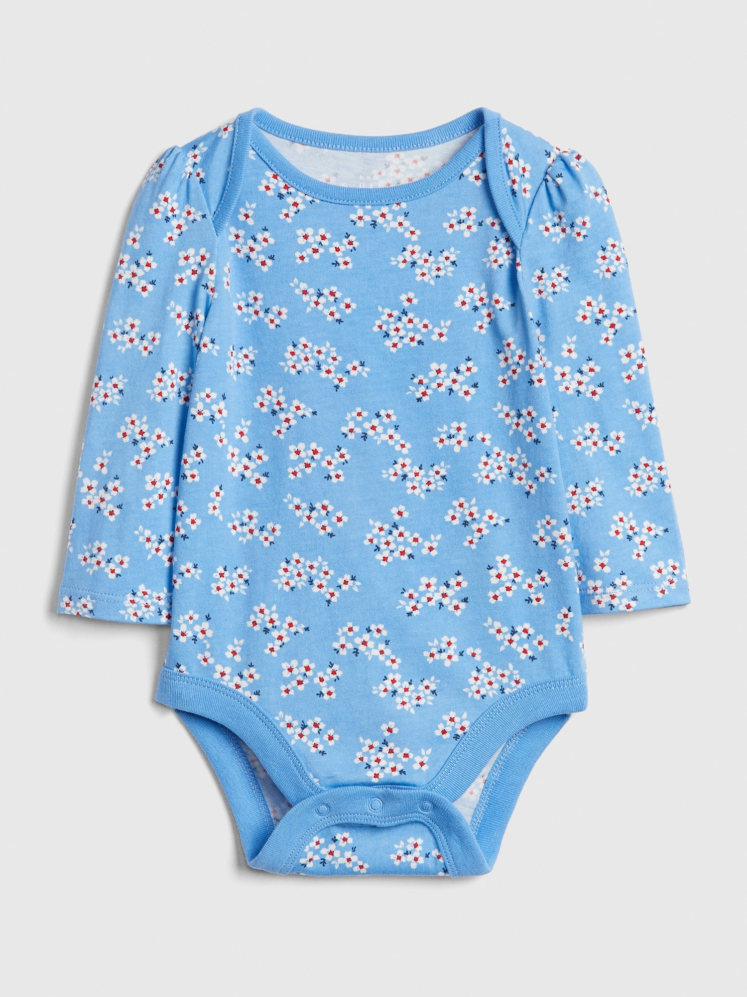 3e5a83c93 Print Long Sleeve Bodysuit | Gap
