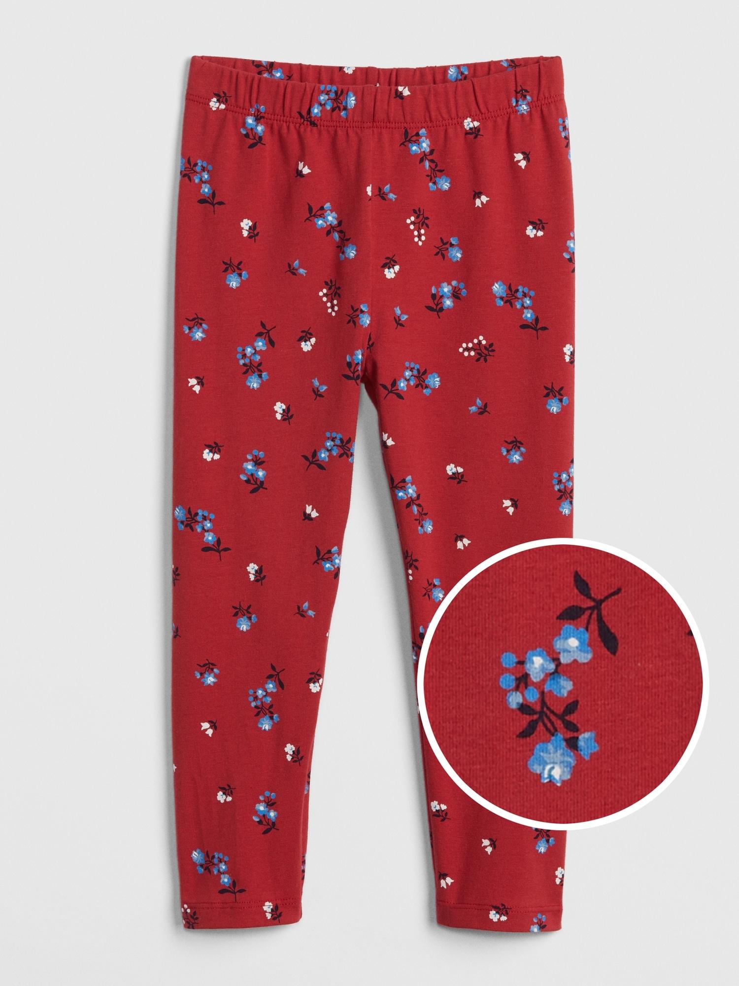 e80741c65cb0f Toddler Print Leggings In Stretch Jersey | Gap