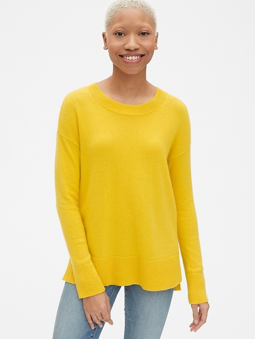 Crewneck Pullover Sweater Tunic by Gap