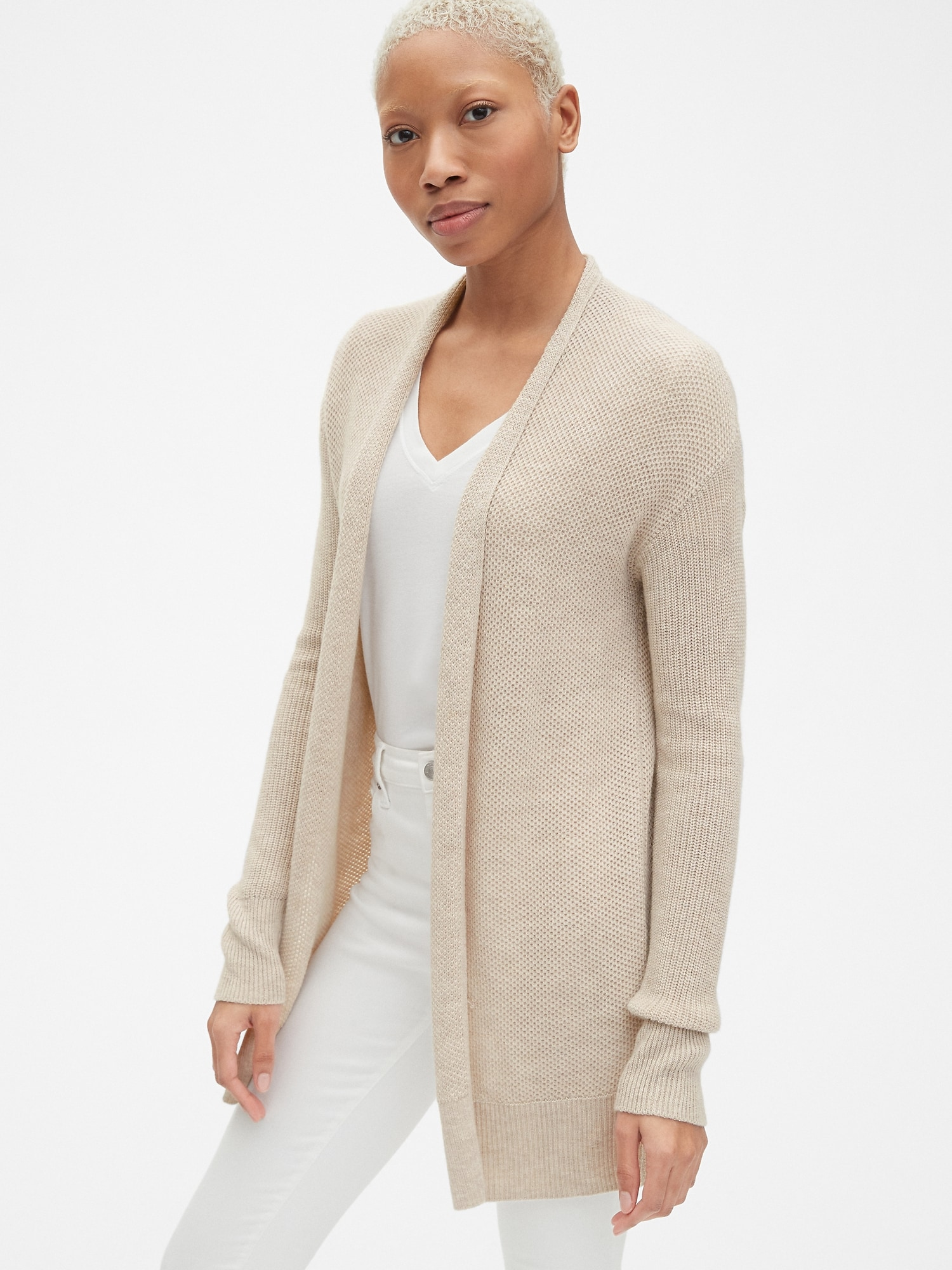 c9df177d33 True Soft Open-Front Cardigan Sweater