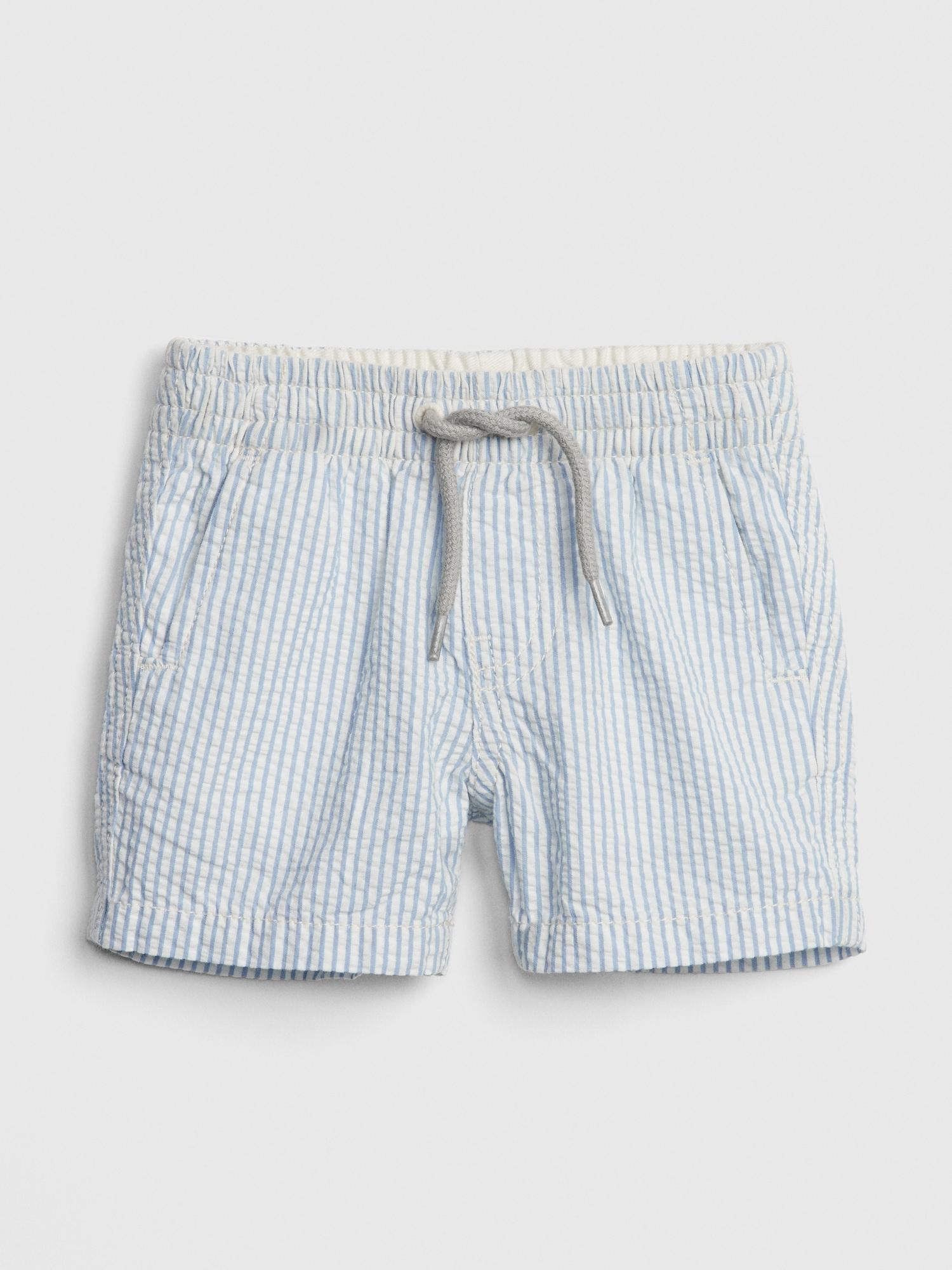79802940c4 Baby Seersucker Pull-On Shorts | Gap