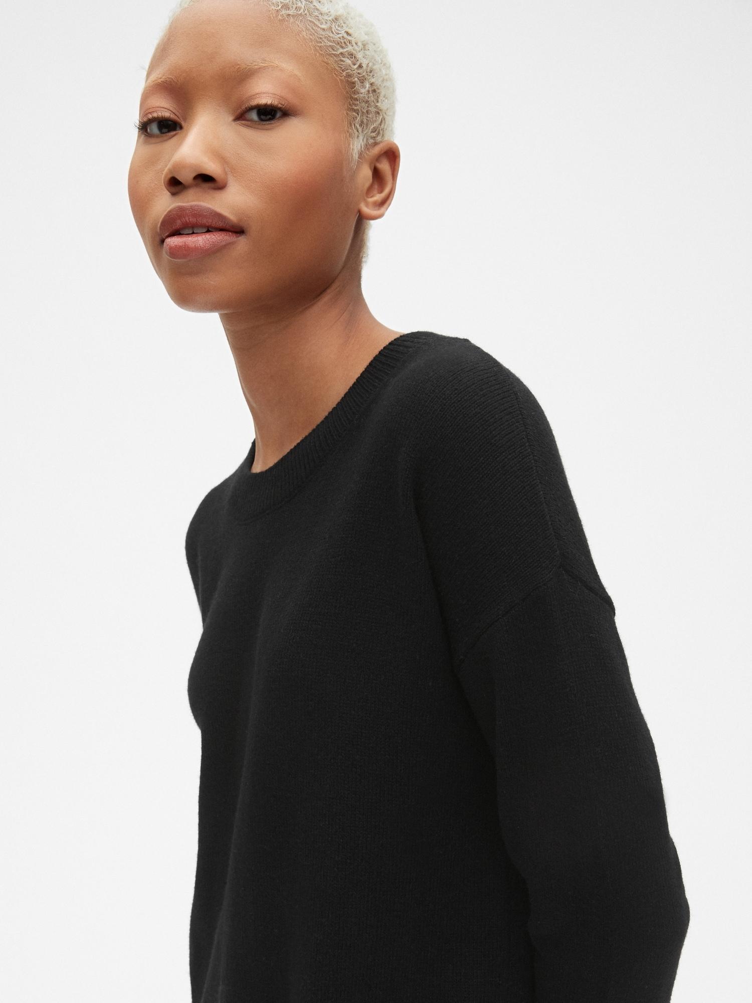 02e574fc4f Cozy Crewneck Sweater Dress